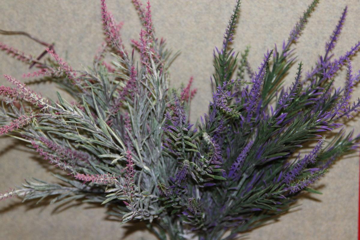 6241 lavanda a mazzo a quattro service fiori for Fiori artificiali